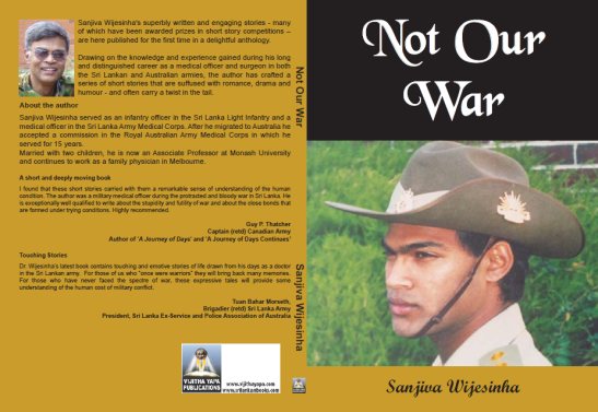 Not Our War Launched as Paperback