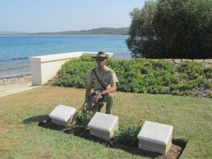 6.Australian tombstones to Indian soldiers at ANZAC cove