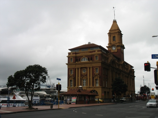 1. Auckland ferry Building