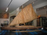 3. Auckland Museum, pacific outrigger boat